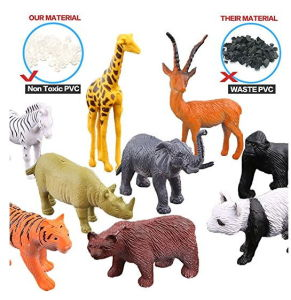 Animals & Dinosaurs Action Figures Animals Figure54 Piece Mini Jungle Animals Toys Set With Gift Box Realistic Wild Making Things Convenient For Customers
