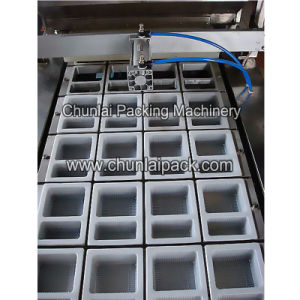 Automatic Beancurd Tray Sealing Machine pictures & photos