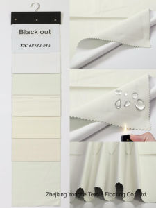 Woven Waterproof Fr Blackout Tc Curtain Linning Fabric pictures & photos