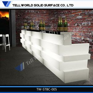 New Design Marble Stone LED Night Club Commercial and Home Bar Counter pictures & photos