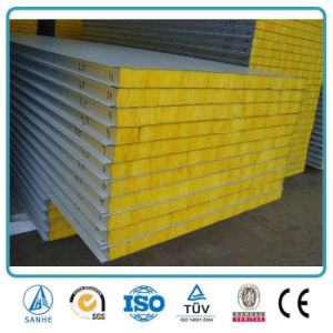 China Corrugated Metal Insulated Fire Rated Fiberglass