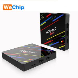 2018 New Rk3328 High Quality IPTV Box Channels H96 Max Plus 4GB DDR3 64GB  Emmc OS Adroid 8 1 2 4G 5g WiFi H96 Max Plus for Home