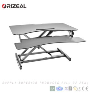 Superb Portable Sit Adjustable Standing Desk Office Table Converter Oz Osdc013 Home Remodeling Inspirations Propsscottssportslandcom