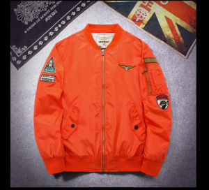 Men′s Tactical Military Jacket Male Air Force One Flight Jacket