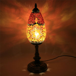 Unique Amazing High Quality Handicrafted Turkish Mosaic Lamp Led Table For Whole