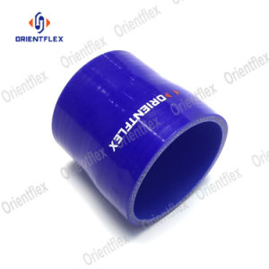 "2 1//2/"" 45 Degree Reducer Silicone Hose 51-63mm Pipe Coupler+T Clamp 2/"" To 2.5/"""