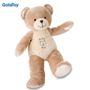 Custom Plush Baby Teddy Bear with Brown Color