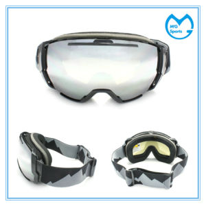 Silver Coating Skiing Accessories Protection Polarized Snowboard Goggles pictures & photos