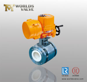 Ceramic Ball Valve with Electrical Actuator