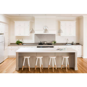 2016 Plywood Carcase Solid Wood Modular Kitchen Cabinets Dining