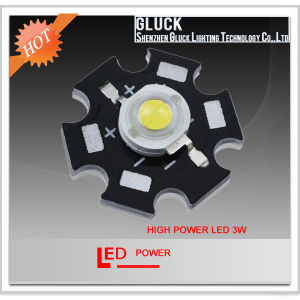 3W High Power LED White Lamp Bead