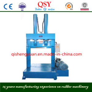 Single Knife Rubber Cutting Machine / Blade Hydraulic Rubber Bale Cutter pictures & photos