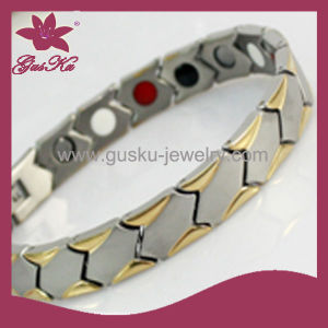 Bioenergy Care Magnetic Stainless Steel Bracelet (2015 Gus-STB-215)