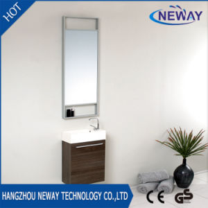 Small Wall Mounted Melamine Modern Bathroom Furniture pictures & photos