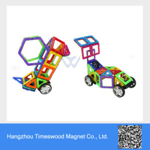 DIY Learning Magnetic Building Toy for Children pictures & photos
