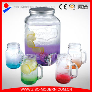 Glass Beverage Dispenser / Glass Juice Jars pictures & photos