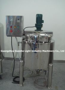 SUS304 200L Liquid Heating Mixer with Electrical Cabinet pictures & photos