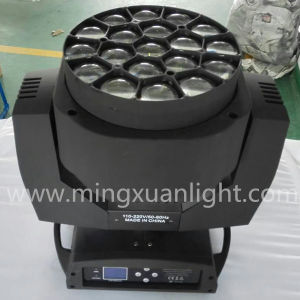 RGBW 19*15W LED Bee Eye Moving Head DJ Light pictures & photos
