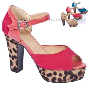 Lady High Heel Sandals (BS1263-6)