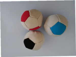 Dog Double Color Canvas Football Toy Pet Toy pictures & photos