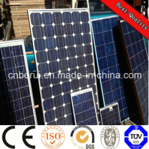 Solar Panel with Cells 156X156 Stock Poly Solar Cell Price for Solar Panel, Solar Cell Manufacturing Plant pictures & photos