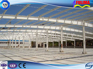 Galvanized/Painted/Prefabricated Steel Frame/Warehouse/Workshop/Hanger/Stair pictures & photos