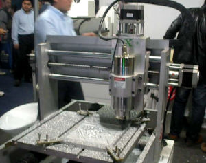 CNC Router for Metal Process (XE4040) pictures & photos