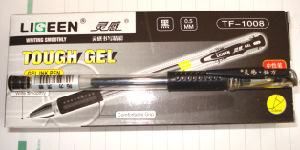 Retractble Ball Pen with Germany Ink Swiss Tips