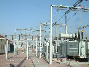 Substation Steel Structure with ISO Certification