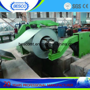 Steel Sheet Recoiler Machine with Loading Car pictures & photos