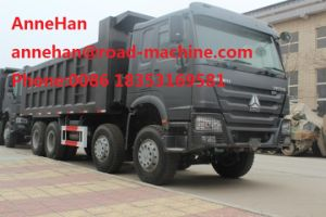HOWO 8X4 Heavy Duty Dump Truck Euro II for Unloading Building Materials