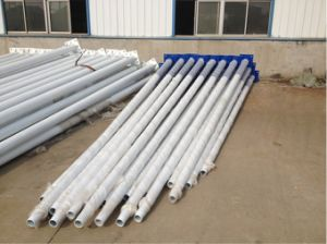 Straight Seam Welding Light Pole in China pictures & photos