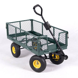 Heavy Duty Garden Trolley Track Cart