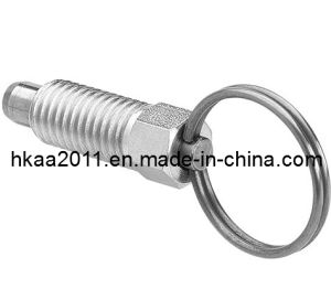 Custom Stainless Steel Threaded Spring Loaded Pin, Spring Lock Pin pictures & photos