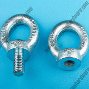 DIN580 Forged Steel Galvanized Eye Bolt and Nut pictures & photos
