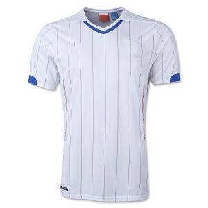 98f34a89c7c Jersey Di Calcio 2014 World Cup Italy Away White Camisetas De Futbol Short  Sleeve Football Shirts