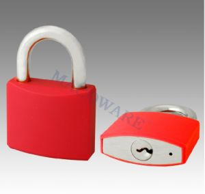 China Hot Sale Top Security Plastic Cover Brass Padlock