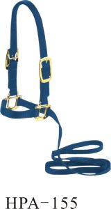 Simple PA Horse Halter with Lead Ropes