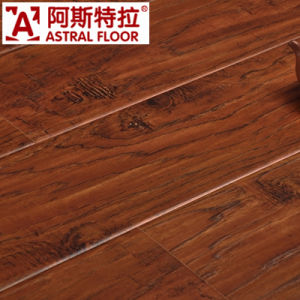 Registered Real Wood Texture Surface Laminate Flooring (AS6012) pictures & photos