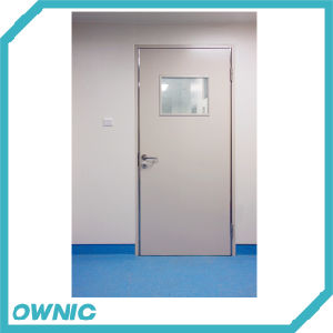 Manual Double Swing Hermetic Hospital Door pictures & photos