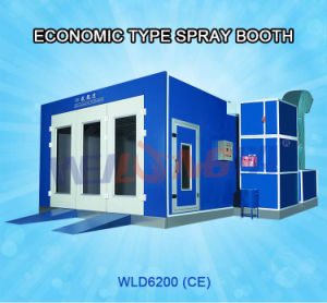 Wld6200 Auto Car Painting Booth (economic type) pictures & photos