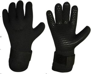 Gloves with Waterproof Printing for Diving & Fishing (HX-G0057) pictures & photos
