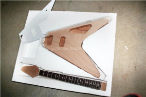 Hanhai Music / Flying V Electric Guitar Kit / DIY Guitar pictures & photos