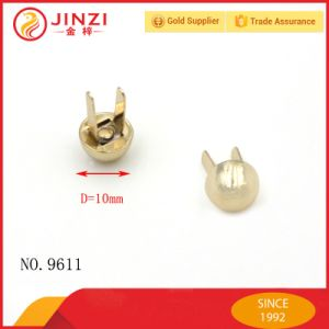Fashion Metal Nipple Screw Rivet for Leather Bag Bottom pictures & photos