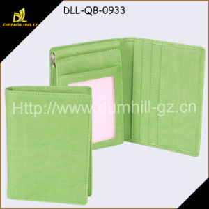 PU Leather Lady Money Clip Wallet and Card Holder