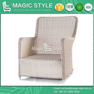 Outdoor Sofa Set Patio Sofa Wicker Sofa Rattan Sofa Rattan Sofa with Cushion Leisure Wicker Sofa (MAGIC STYLE) pictures & photos