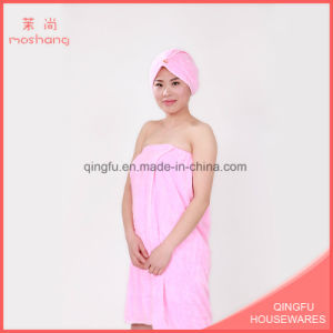 Ultra Soft Colorful Coral Fleece Hair Towel Bath Towel