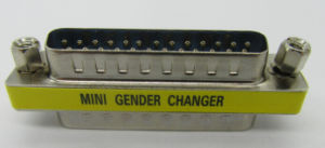 Mini Gender Changer 25p Male to Male pictures & photos