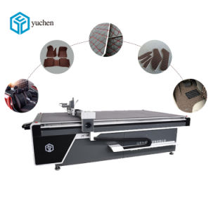 High Efficiency No Laser Floor Mats Cnc Cutter With Good Price