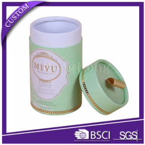 Custom Printing Luxury Round Tube Tea Packaging Boxes